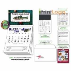 BUSINESS CARD MAGNET CALENDAR-IGT-0160