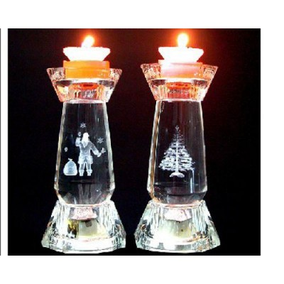 CRYSTAL CANDLE HOLDER-IGT-CH0018