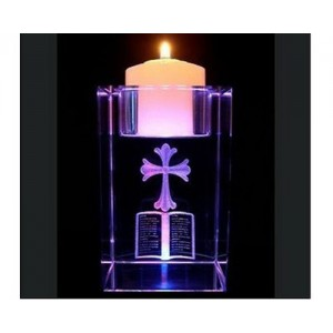 CRYSTAL CANDLE HOLDER-IGT-CH0025
