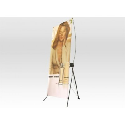 Large X Banner Stand